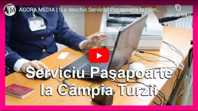 S-a deschis Serviciul Paşapoarte la Câmpia Turzii